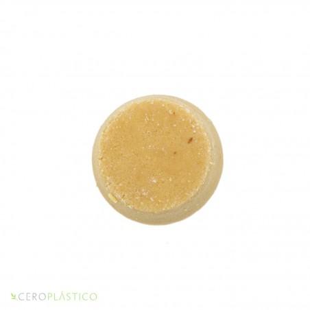 Shampoo sólido para cabello normal a graso hierba limón Esenciel Cosmética Natural