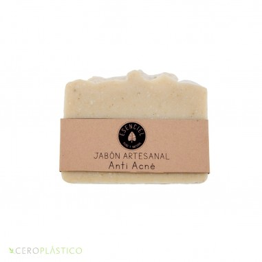 Jabón Anti Acné Esenciel Cosmética Natural