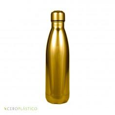 Botella térmica metálica acero inoxidable 500 ml Cero Plástico