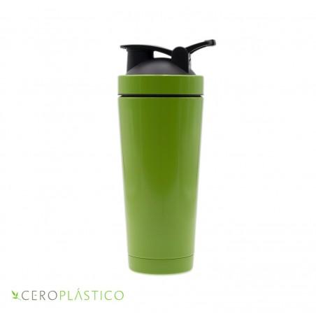 Shaker doble pared de acero inoxidable 700 ml. Cero Plástico