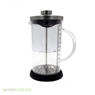 Cafetera tipo prensa francesa Cero Plástico