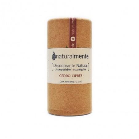 Desodorante Natural Cedro-Ciprés Naturalmente