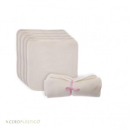 Toallitas reusables para bebé 5 pack Ninios