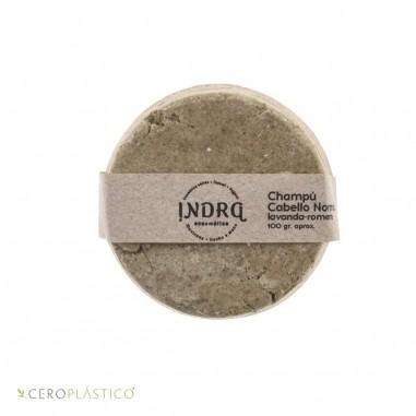 Champú sólido para cabello normal Indra Cosmética