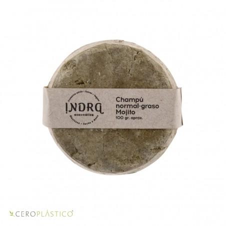 Champú para cabello normal a graso - Mojito Indra Cosmética