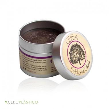 Exfoliante labial de café y nuez Ceiba