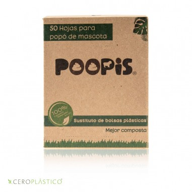 Alternativa para bolsas de heces Poopis