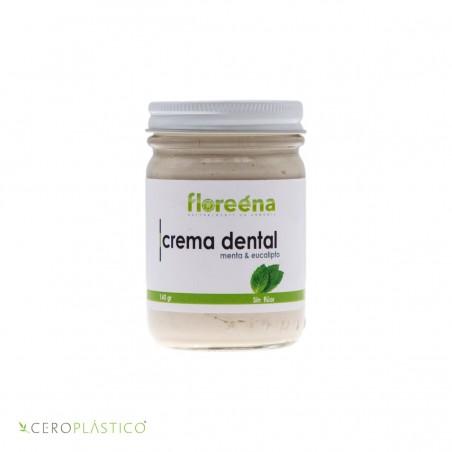 Crema dental de menta y eucalipto Floreena