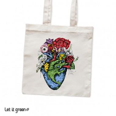 Bolsa Tote bag Corazón Cero Plástico