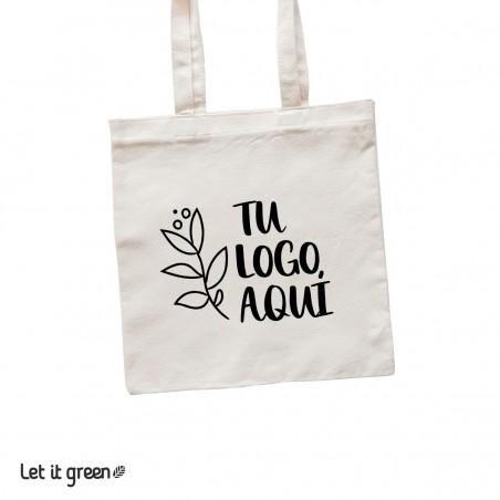 100 Bolsas Tote-bag de loneta personalizadas Cero Plástico