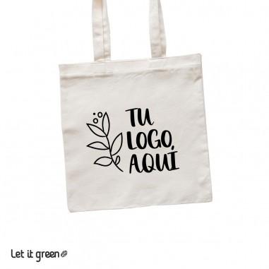 50 Bolsas Tote-bag de manta personalizadas Cero Plástico
