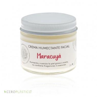Crema facial piel mixta o grasa maracuya Esenciel Cosmética Natural