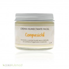 Crema facial piel seca o sensible cempasuchil Esenciel Cosmética Natural