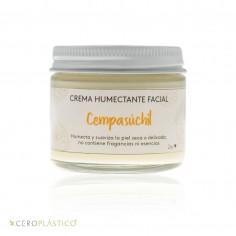 Crema facial piel seca o sensible Esenciel Cosmética Natural