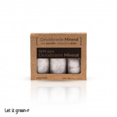 Refil para desodorante natural Naturalmente