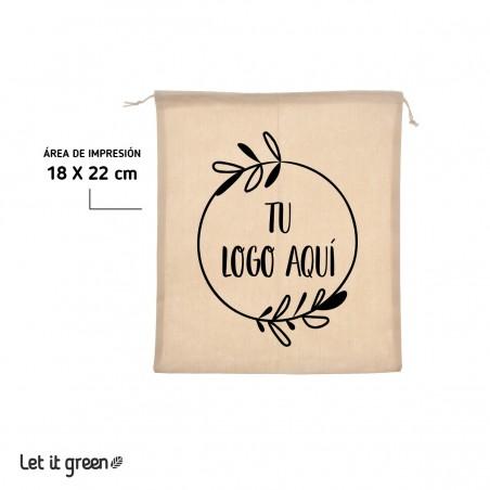 100 Costalitos personalizados Cero Plástico