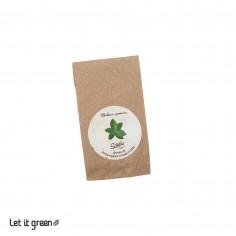Semillas orgánicas de hierbas comestibles