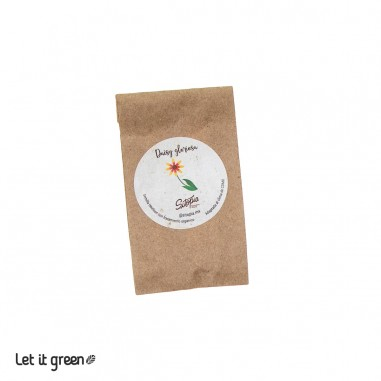 Semillas orgánicas de flores