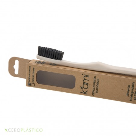 Cepillo dental ecológico, hecho de semilla de Aguacate K'ami