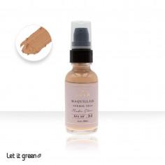 Maquillaje piel normal - seca Teia