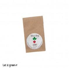 Semillas orgánicas de raices