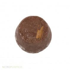 Shampoo sólido de chocolate Esenciel Cosmética Natural