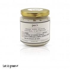 Crema para peinar control y nutrición Raíces Co.