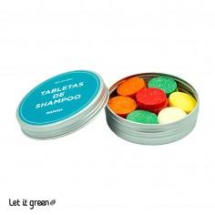 Tabletas de shampoo Viaja Fácil Nanah Sustentable