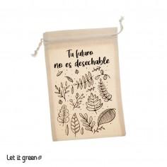 Costalito Tu futuro no es reciclable Cero Plástico