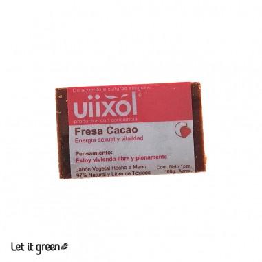 Jabón de Fresa Cacao Uiixol