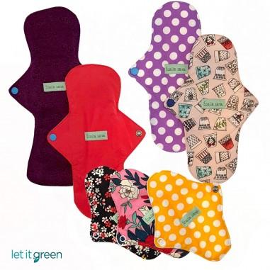 7 Pack toallas de tela Toalla Sana