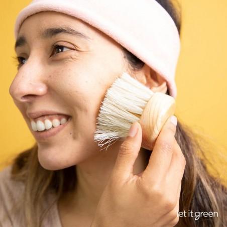 Cepillo exfoliante facial Cepillos artesanales