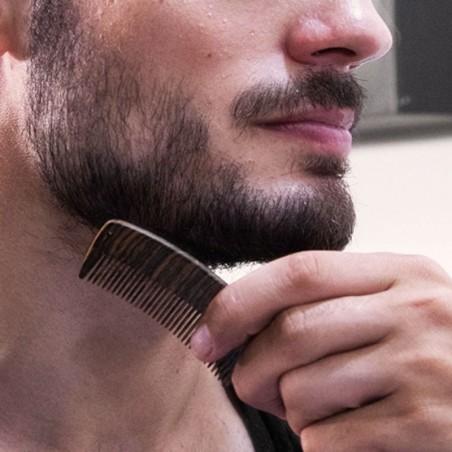 Peine para barba y bigote - artesanía mexicana IMA