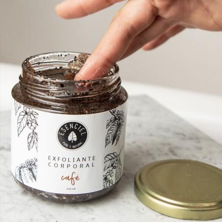 Mantequilla exfoliante - Café Esenciel Cosmética Natural
