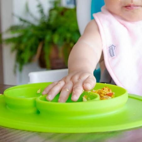 Plato de silicón para bebé Cero Plástico