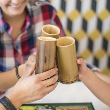 Set 5 vasos de bambú Cero Plástico