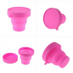 Vaso plegable de silicon Cero Plástico
