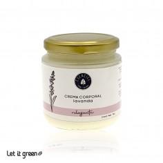 Crema corporal nutritiva de lavanda Esenciel Cosmética Natural