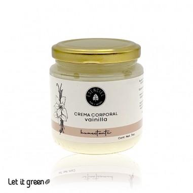 Crema corporal nutritiva de vainilla Esenciel Cosmética Natural