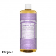 Jabon liquido puro de castilla aroma Lavanda Dr. Bronners