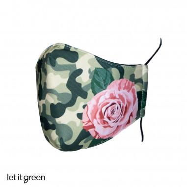 Cubrebocas tricapa reutilizable larga duración diseño Cero Plástico