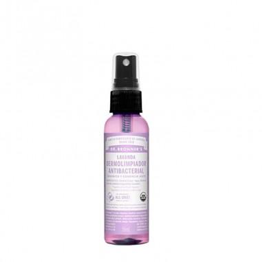 Spray antibacterial líquido aroma Lavanda Dr. Bronners