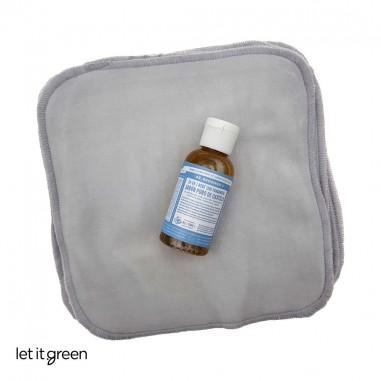 Kit para toallitas húmedas DIY Cero Plástico