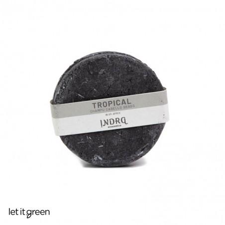 Champú sólido para cabello graso carbón activado Indra Cosmética