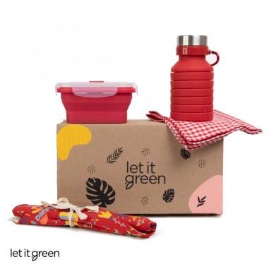 Kit Zero Basura Rojo Cero Plástico