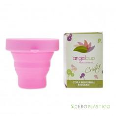 Kit Fem, Copa Grande + vaso esterilizador Angel Cup