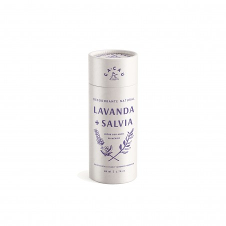 Desodorante Natural Lavanda + Salvia Cacau