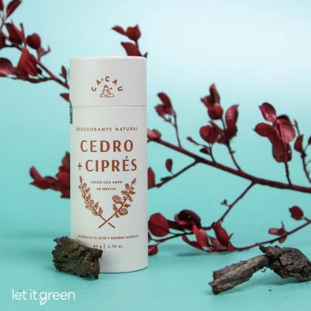 Desodorante Natural Cedro + Ciprés Cacau Cacau