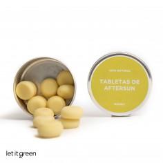 Tabletas de crema Aftersun Nanah Sustentable