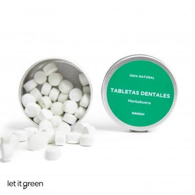 Tabletas Dentales de Hierbabuena Nanah Sustentable